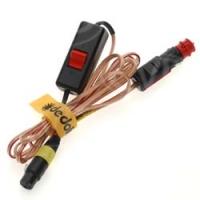 Dedolight DCAR3 3-pin XLR to car cigar lighter socket for 12v DLH4 / 2 (DCAR-3)